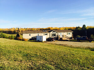 Mobile Home to be moved of acreage property near Stony Plain