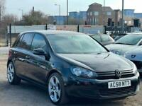 * 58 2009 VOLKSWAGEN VW GOLF 1.4L + GTi ALLOYS + PRIVACY GLASS + LADY OWNER *