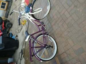 Schwinn cruiser bicycle 7 speed