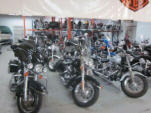 Service d'entreposage chauffé/sécurisé pour votre moto