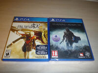 Final Fantasy Type 0 HD with FF XV demo and Shadow of Mordor