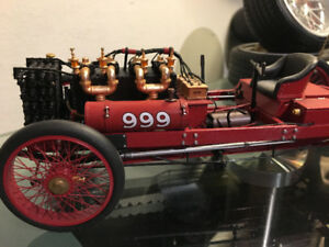 1902 FORD 999 RACE CAR 1:18 DIE-CAST METAL MODEL A-1021