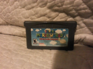 GBA Super Mario World and GBC Game & Watch 2