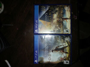 Assasins Creed Origins and Assasins Creed Odyssey 120 for both
