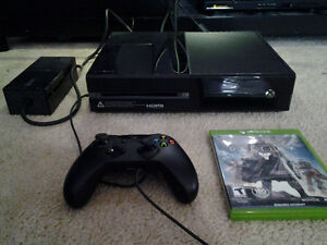 Xbox one with kinect and halo 5