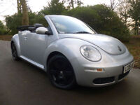 2007 Volkswagen Beetle 1.9TDI DIESEL 59MPG,BLACK LEATHER HEATED SEATS,E/HOOD