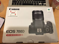 Canon 700D ESO EF-S 18-55 is STM KIT brand new