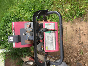 Old 8 HP snowblower for parts or repair.