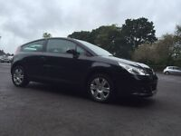 06 citreon c4 1.4 vtr coupe 3DR*BLACK*T/BELT REPLACED*LOW INC*clio,307,astra,fiesta,corsa