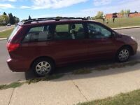 I have Toyota Sienna for sale 2006 the car have tarsmashs proble