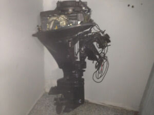 2001 9.9 Mercury Bigfoot Outboard With Controls And Cables