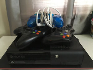 Xbox 360 w/ controllers and games $285
