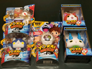 5 x Yo-Kai watch action figures for sell