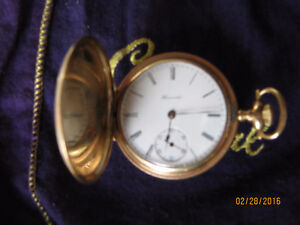 Collector's E.HOWARD Pocket Watch in Box (1800's)