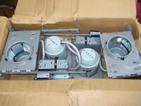 "NEW - Box of ""4"" Juno TC44 4-inch Recessed Lights"