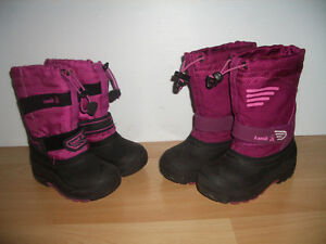 """2 pairs of """""""" KAMIK """""""" ----- winter boots ----- size 11 US"""