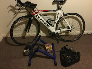$1,300 P2C Cervelo for sale. Used but in okay condition
