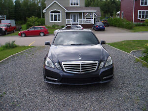 2013 Mercedes-Benz E350 4 Matic Berline