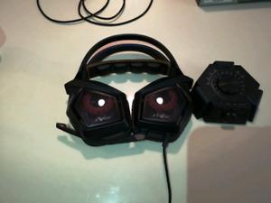 Asus strix 7.1 surround sound gaming headset