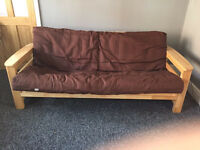 OTO FUTONS SOLID PINE WOOD DOUBLE SOFA BED