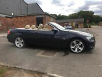 57 BMW 330 3.0TD SE CONVERTIBLE. FULL ELEC LEATHER