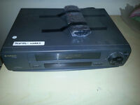 Sharp VC-A542 4 Head VCR with Remote - Works well