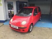 Matiz 800cc extremely economical and reliable,Full MOT Service Warranty all included+ new cam belt