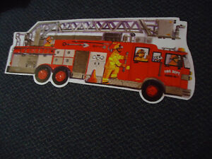 LARGE***FIRE TRUCK****FLOOR Puzzle