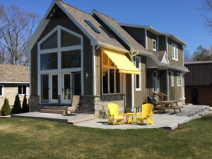 NEW EXECUTIVE BEACH FRONT, LAKE HURON SHORES, GRAND BEND