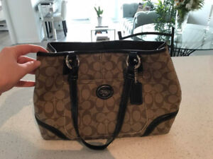 "Coach Signature ""Peyton"" Handbag"