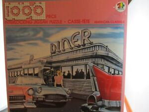 1000 Pieces Jigsaw Puzzle American Classic Dinner New