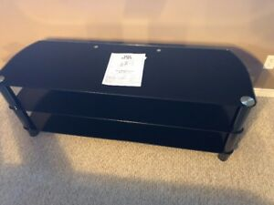 Selling large glass TV stand