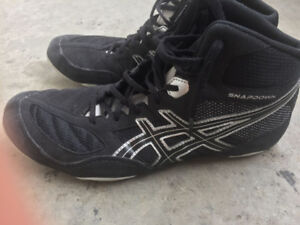 Asics Wrestling Shoes Size 12
