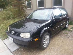 2002 Volkswagen Golf Yup Coupe (2 door)