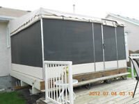 3 sided screen room for sale