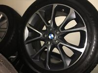 """BMW X5 19"""" alloy wheels and runflat tyres f15"""