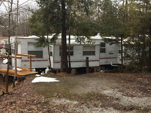 awesome trailer for sale in a beautiful trailer park.