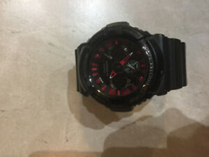 Red G-Shock watch, Model 5229