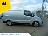 2015 65 RENAULT TRAFIC 1.6 SL27 SWB SPORT ENERGY DCI PANEL VAN WITH A/CON, ALLOY