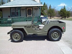 for sale 1943 Willy's Military MB Jeep