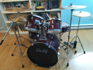 Drum set - Ensemble de Batterie