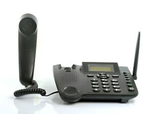 TELEFONO FISSO GSM CON SIM CARD DA TAVOLO SCRIVANIA TIM ...