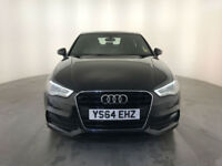 2015 AUDI A3 S LINE TDI SALOON DIESEL 1 OWNER AUDI SERVICE HISTORY FINANCE PX