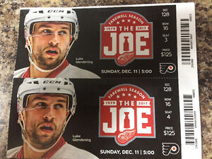 DETROIT RED WINGS THIS SUNDAY!!