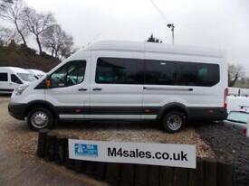 Ford Transit 125ps,17 seat Trend minibus,full a/c