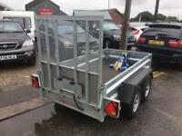 INDESPENSION TYPE V67Z TWIN AXLE PLANT TRAILER PARTX