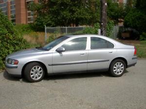 2002 Volvo S60, 2.4L, 5 Cylinder, 144000 miles, $2990 obo