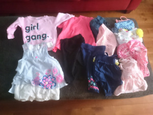 Girls size 6-9 month clothing