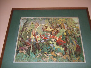 J.E.H. Macdonald- Group of Seven --The Tangled Garden--Picture