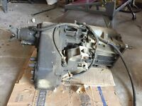 Transfer case and CJ-7 parts